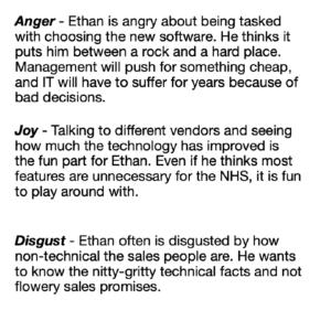 PPC Personas Emotions